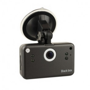 """Classic Car Video Recorder - 5M CMOS 2.5"""" LCD Screen HD Night Vision DVR with 800MA Rechargeable Battery"""