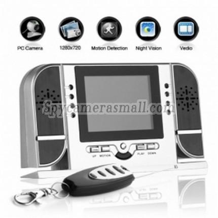 spy cameras - Digital Clock with HD Hidden Camera+Motion Sensor+Night Vision