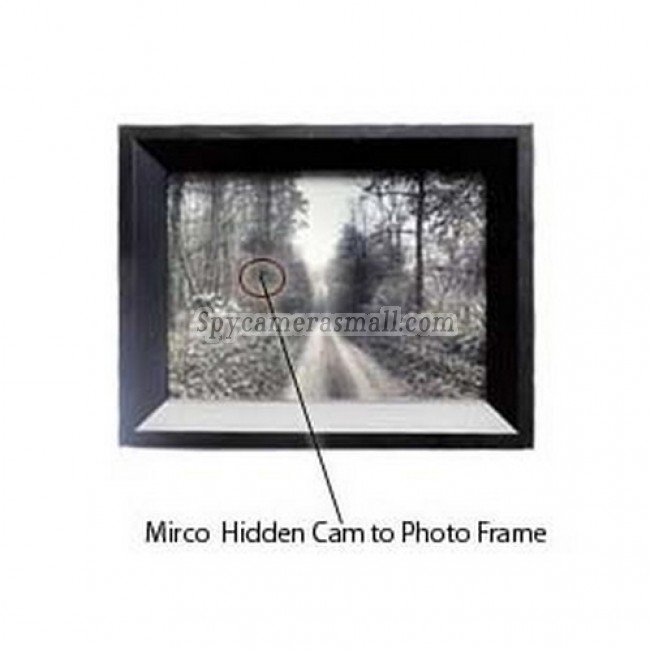 Spy Picture Camera DVR - 4GB Photo Frame Micro Hidden Camera with Motion Detection