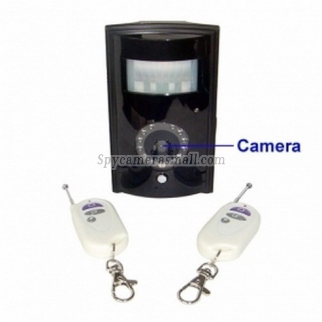 spy cameras - Infrared PIR Detector Style GSM Remote Camera with Remote Control