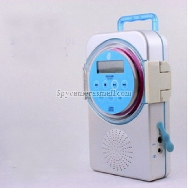 Waterproof Spy Radio Camera /DVR (Motion Ativated) - Waterproof Spy Radio/CD Drive Camera Hidden Camera DVR 16GB Motion Ativated And Remote control Spy Camera