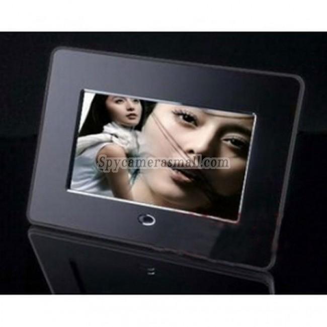 """Digital Photo Frame Spy Camera DVR - Digital Photo Frame 7"""" LCD (800x480) Hidden Pinhole Camera DVR 16GB HD 1280X720"""