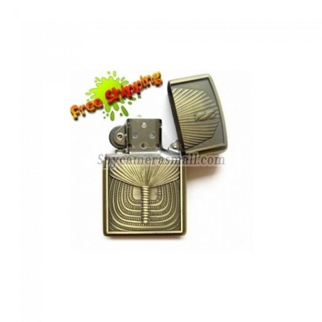 Spy Lighter Camera DVR - 4GB Bronze Egyptian Pharoah Lighter Spy Camera