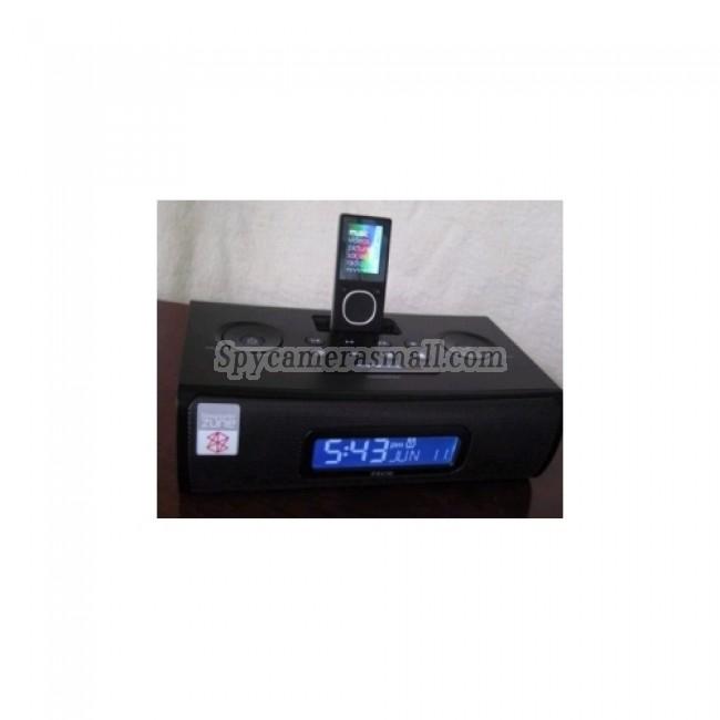 hidden Spy Clock Cameras - iHome Alarm Clock Radio HD Bedroom Spy Camera DVR 1280X720 16GB (Motion Ativated)