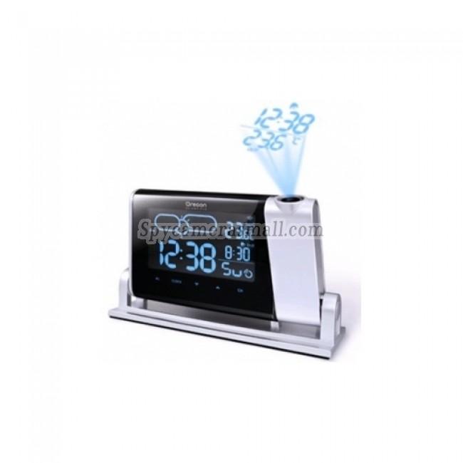 Alarm Clock Radio Hiden HD Spy Camera DVR - Oregon Weather Time Projection Hiden HD Spy Camera DVR 1280X720 16GB