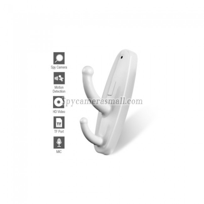 spy camera expert - Clothes Hook Style HD Spy Camera with Motion Detector