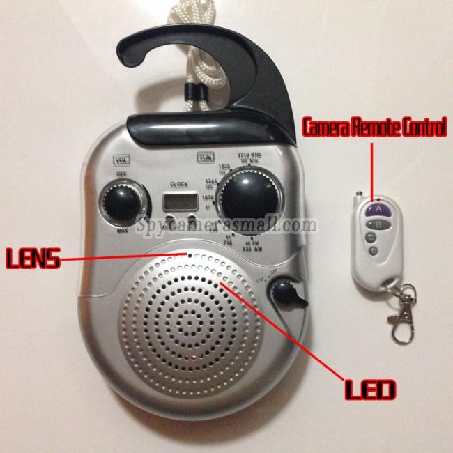 Radio för Män dolda kameran 16G DVR Full HD 720P Rörelseavkänning bästa dolda kameran