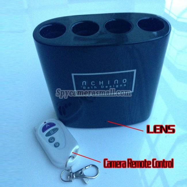tandborsthållare för Män spion kamera 16G DVR Full HD 1080P Rörelseavkänning bästa dolda kameran