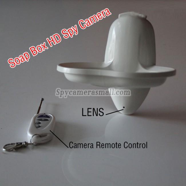 Tvålask spionkamera 32G DVR 1080P Rörelseaktiverad bästa dolda kameran