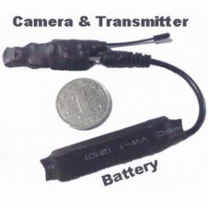 Professional wireless hidden Spy Camera - 2.4GHZ Wireless spy camera with protable receiver