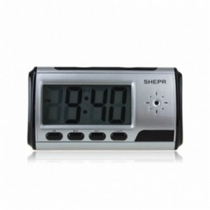 DVR Clock Camera with internal  memory - New Black Clock Camera 1280*960 with Video Photo Motion Detection and Remote Control Function