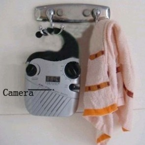 hidden camera for bathroom - Bathroom Spy Radio  Hidden HD 720P Spy Camera DVR 8GB (Motion Activated And Remote Control )