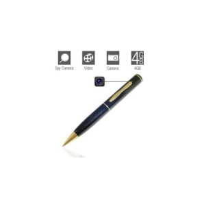Spy Pen cam - Spy Pen Camera with Motion Detector (4GB)
