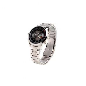 Spy Watch Cameras recoder - HD Waterproof All Metal Sport Watch with Motion Detector + Digital Video Recorder (8GB)