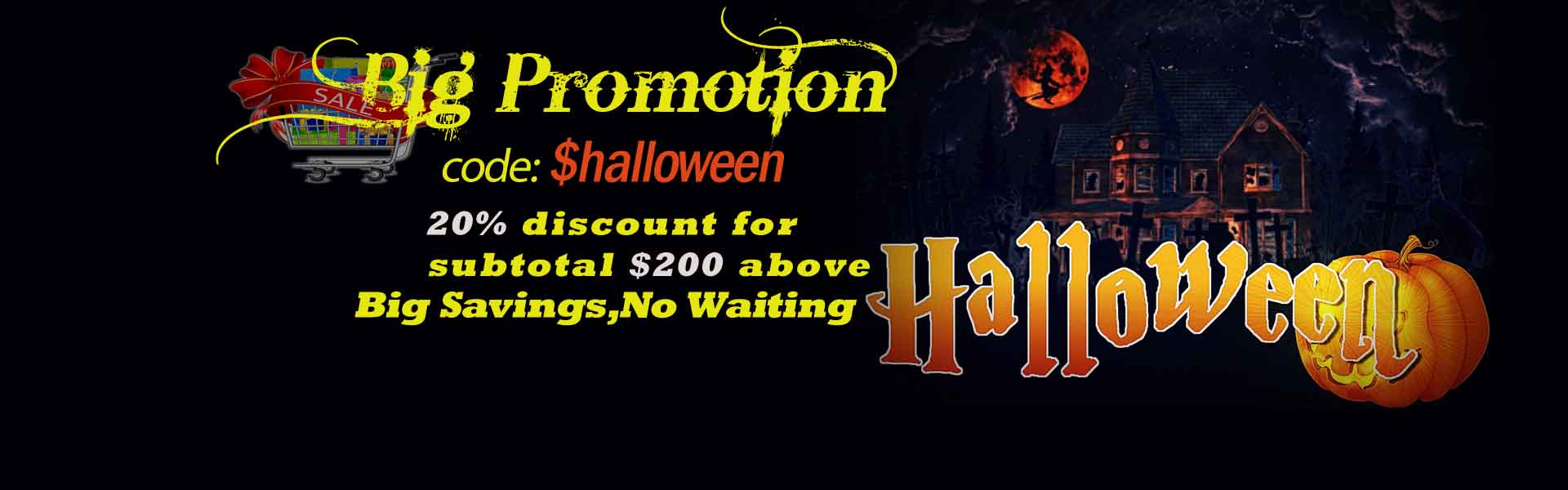 promotion Halloween 2019